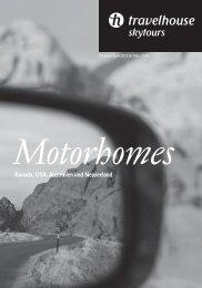 Kanada, USA, Australien und Neuseeland Motorhomes - BLS AG