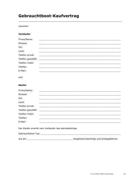 AUTOKAUFVERTRAG PRIVAT PDF