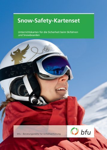 Snow-Safety-Kartenset - BfU