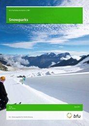 Snowparks - Seilbahnen Schweiz