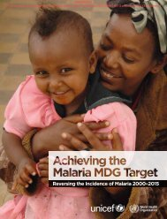 Reversing the Incidence of Malaria 2000–2015