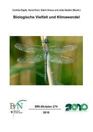 Biodiversität und Klima - Bundesamt für Naturschutz