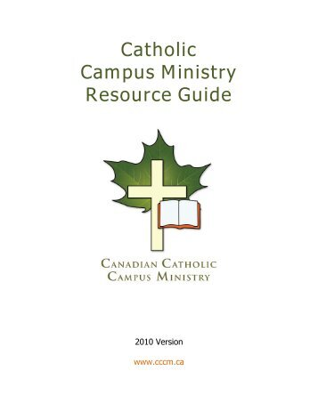 Catholic Campus Ministry Resource Guide