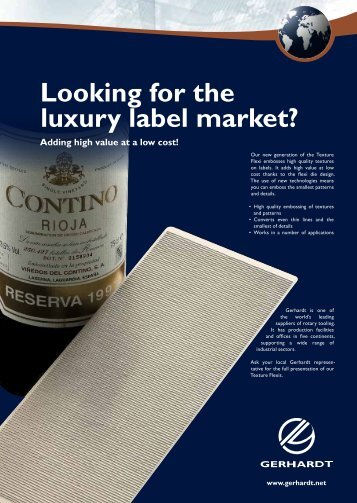 Looking for the luxury label market?