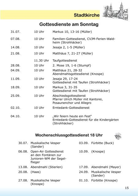Cvjm Ferien Waldheim Segelflieger