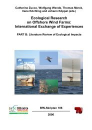 Ecological Research on Offshore Wind Farms - Bundesamt für ...