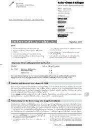 Mandantenrundschreiben 10/09 - Grasse-kucht.de