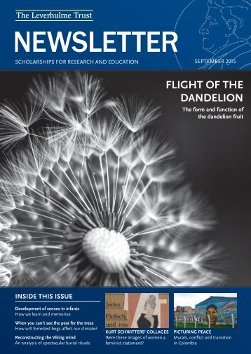 FLIGHT OF THE DANDELION
