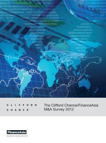 The Clifford Chance/FinanceAsia M&A Survey 2012