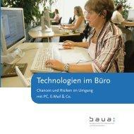 Technologien im Büro - Bundesanstalt für Arbeitsschutz und ...