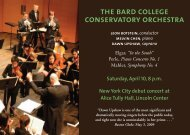 conservatory orchestra