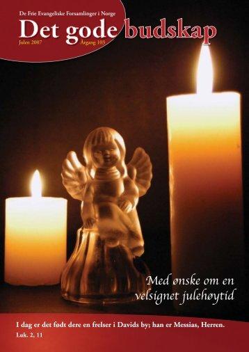 Med ønske om en velsignet julehøytid
