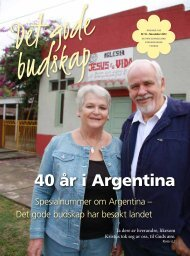 40 år i Argentina