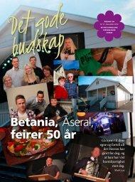 Betania Åseral feirer 50 år