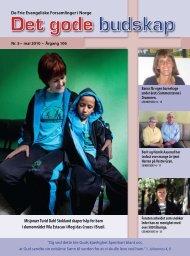 Misjonær Turid Dahl Stokland skaper håp for barn i ... - DFEF