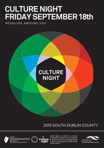 CULTURE NIGHT FRIDAY SEPTEMBER 18th