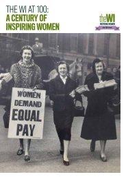 A CENTURY OF INSPIRING WOMEN