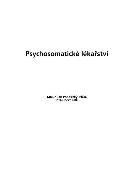 PSYCHOSOMATICKÉ
