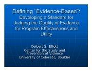 """Evidence-Based"""