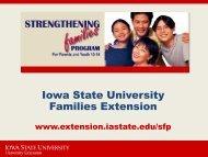 Iowa State University Families Extension