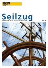 Mitarbeiterzeitung der Baumann Koelliker Gruppe März 11