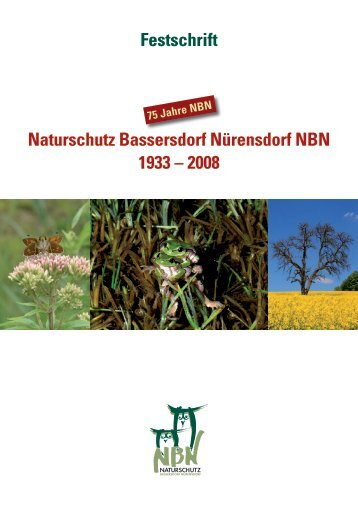 Festschrift Naturschutz Bassersdorf Nürensdorf NBN 1933 – 2008