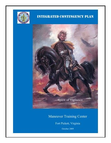 INTEGRATED CONTINGENCY PLAN Maneuver Training Center