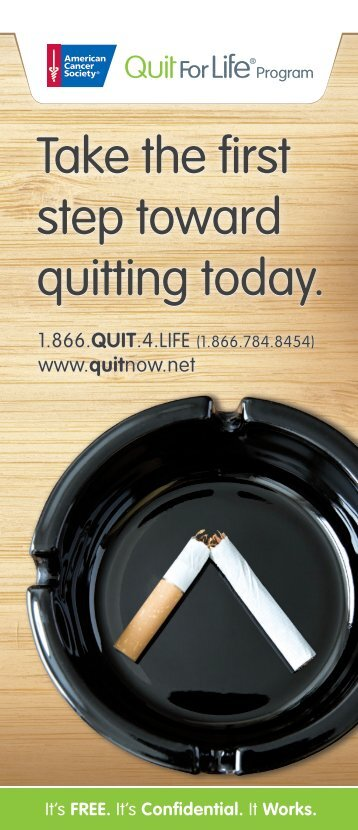 step toward quitting today