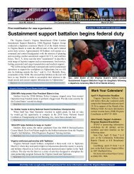 Sustainment support battalion begins federal duty