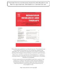 Author's personal copy - Center for Depression, Anxiety and Stress ...