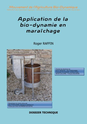 Application de la bio-dynamie en maraîchage