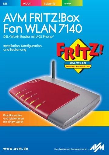 FRITZ!Box Fon WLAN 7140 - AVM