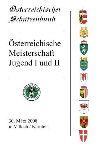 Österreichische Meisterschaft Jugend I und II