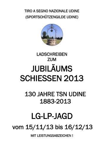 JUBILÄUMS SCHIESSEN 2013 LG-LP-JAGD