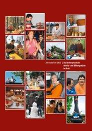 Jahresbericht 2012 | Sozialtherapeutische Arbeits- und Bildungsstätte im Grüt