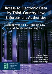 Access to Electronic Data by Third-Country Law Enforcement Authorities