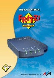 Handbuch FRITZ!Card USB - AVM