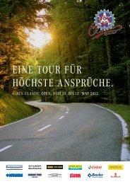 EINE TOUR FÜR HÖCHSTE ANSPRÜCHE