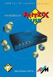 FRITZ!X USB - AVM