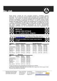 MOTO GP GRAND PRIX D'ITALIE 13 – 15 juillet 2012 / Mugello