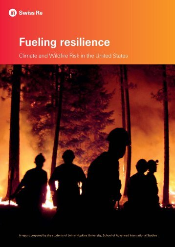 Fueling resilience