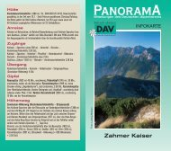 PanoramA - Deutscher Alpenverein