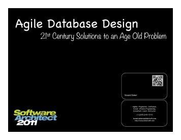 Agile Database Design