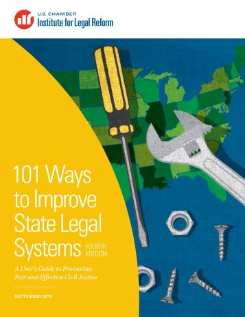 101 Ways to Improve State Legal Systems