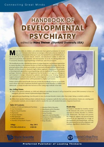 DEVELOPMENTAL PSYCHIATRY