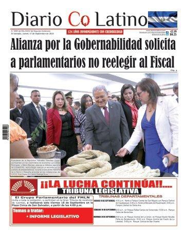 Edición 17 de Septiembre de 2015