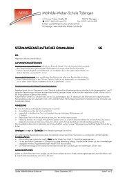 Informationsblatt im PDF-Format - Mathilde-Weber-Schule