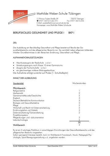 Gesundheitsbereichs Pädagogik/Psychologie