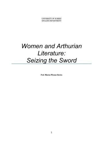 Women and Arthurian Literature - University of Surrey