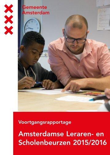 Amsterdamse Leraren- en Scholenbeurzen 2015/2016